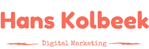 Hans Kolbeek - holistic and data driven digital marketing consultancy - logo